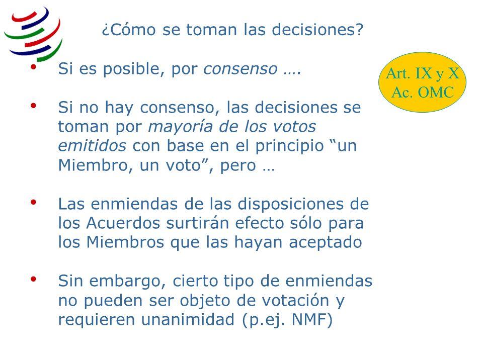¿Cómo se toman las decisiones