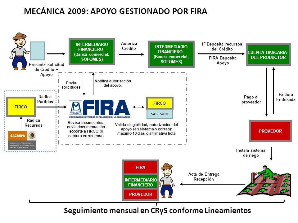 MECÁNICA 2009: APOYO GESTIONADO POR FIRA