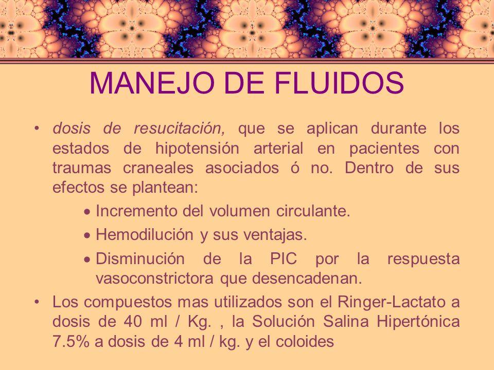 MANEJO DE FLUIDOS