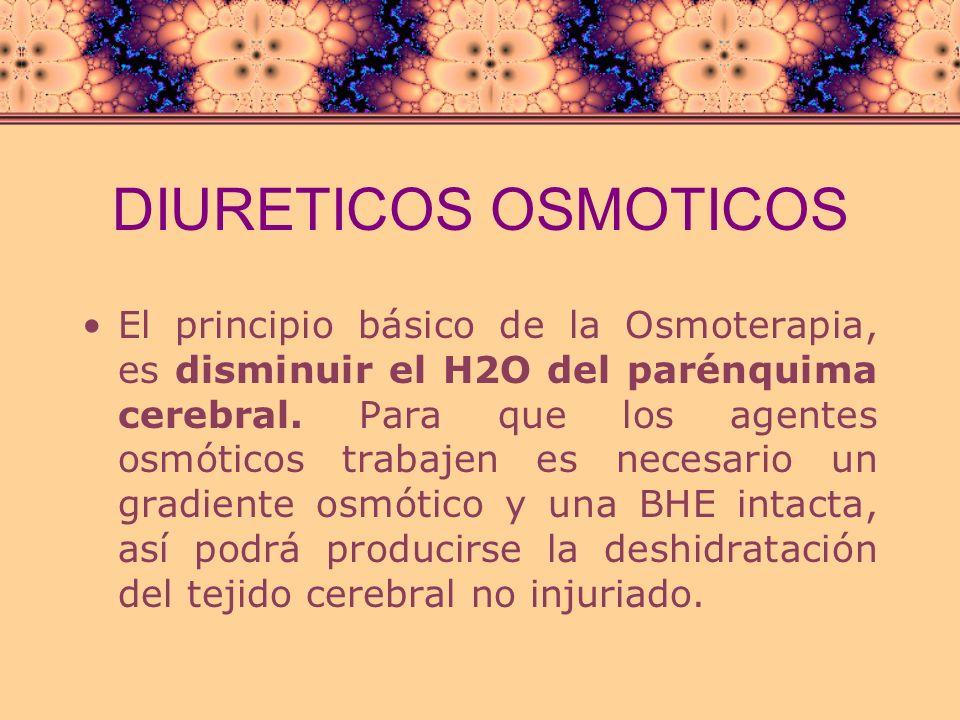 DIURETICOS OSMOTICOS