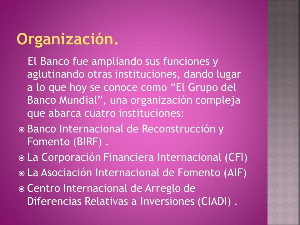 Organización.