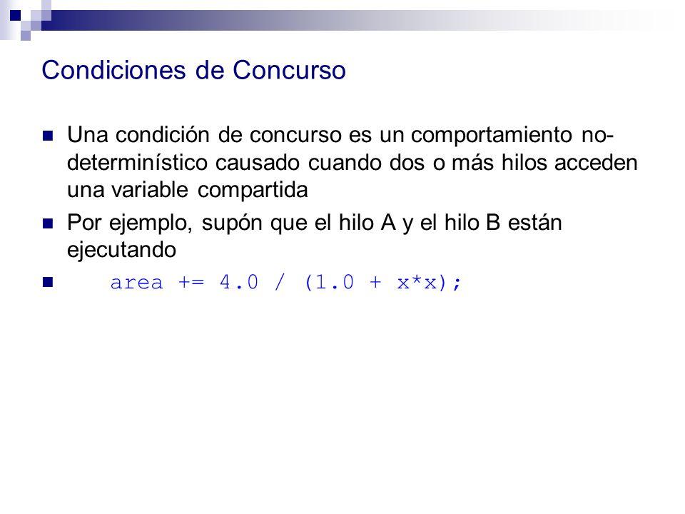 Condiciones de Concurso