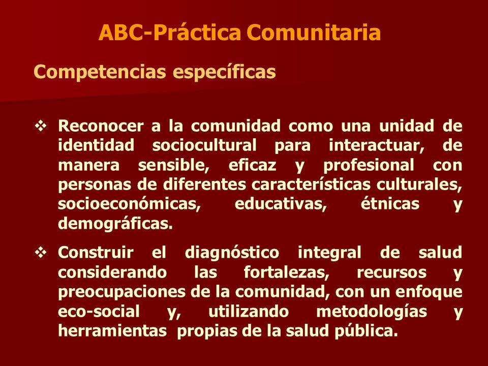 ABC-Práctica Comunitaria