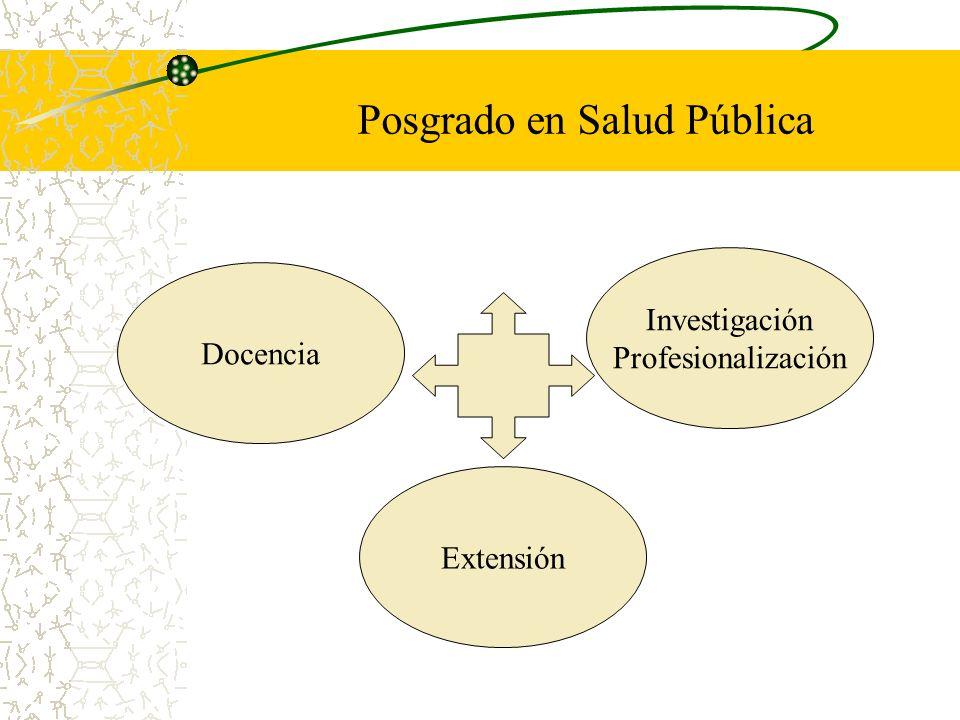 Posgrado en Salud Pública