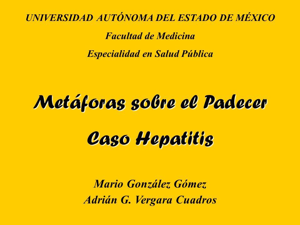 Metáforas sobre el Padecer Caso Hepatitis