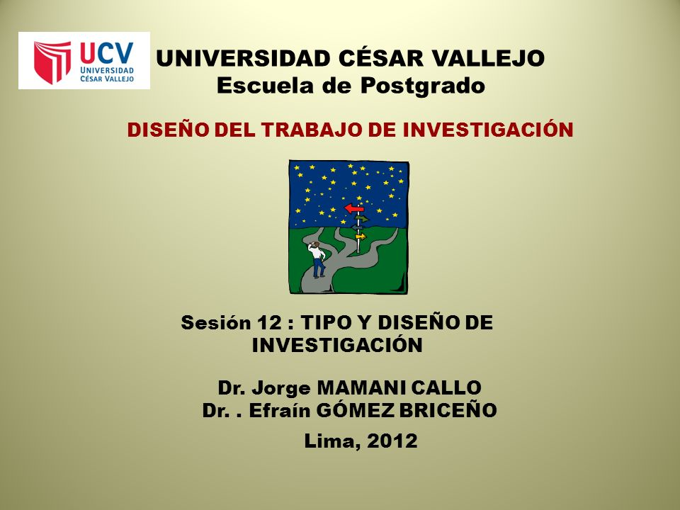 UNIVERSIDAD CÉSAR VALLEJO Escuela de Postgrado