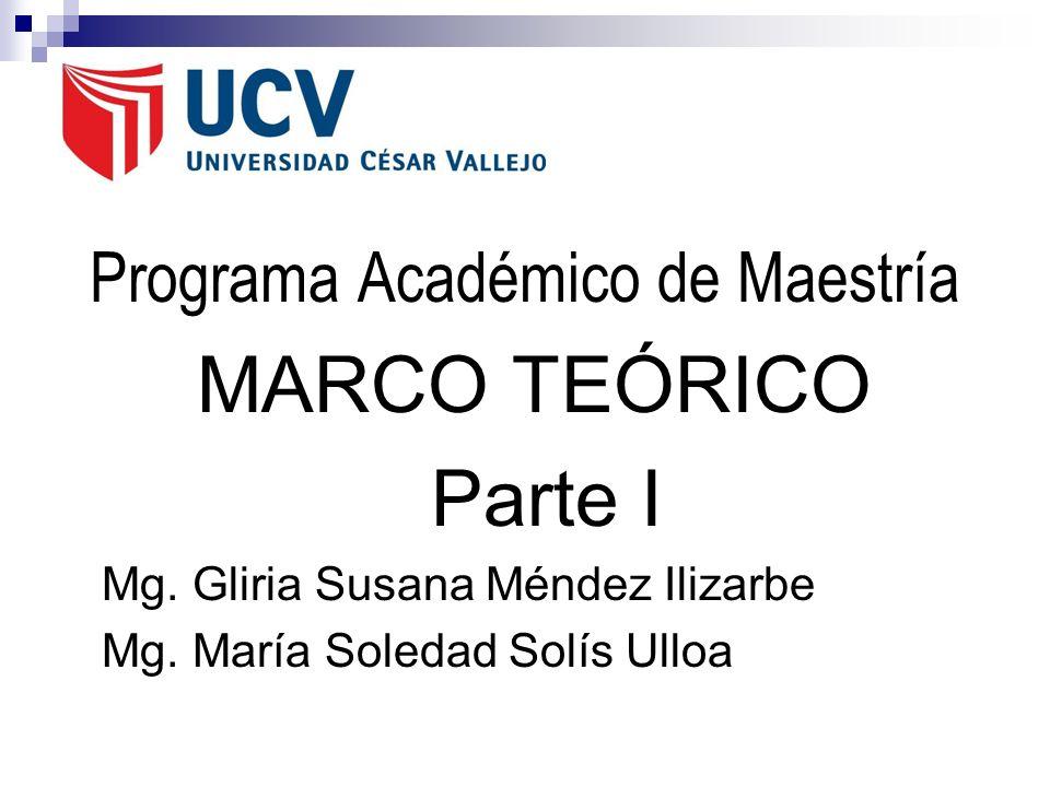 Programa Académico de Maestría