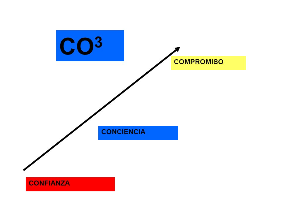 CONFIANZA CONCIENCIA COMPROMISO CO3