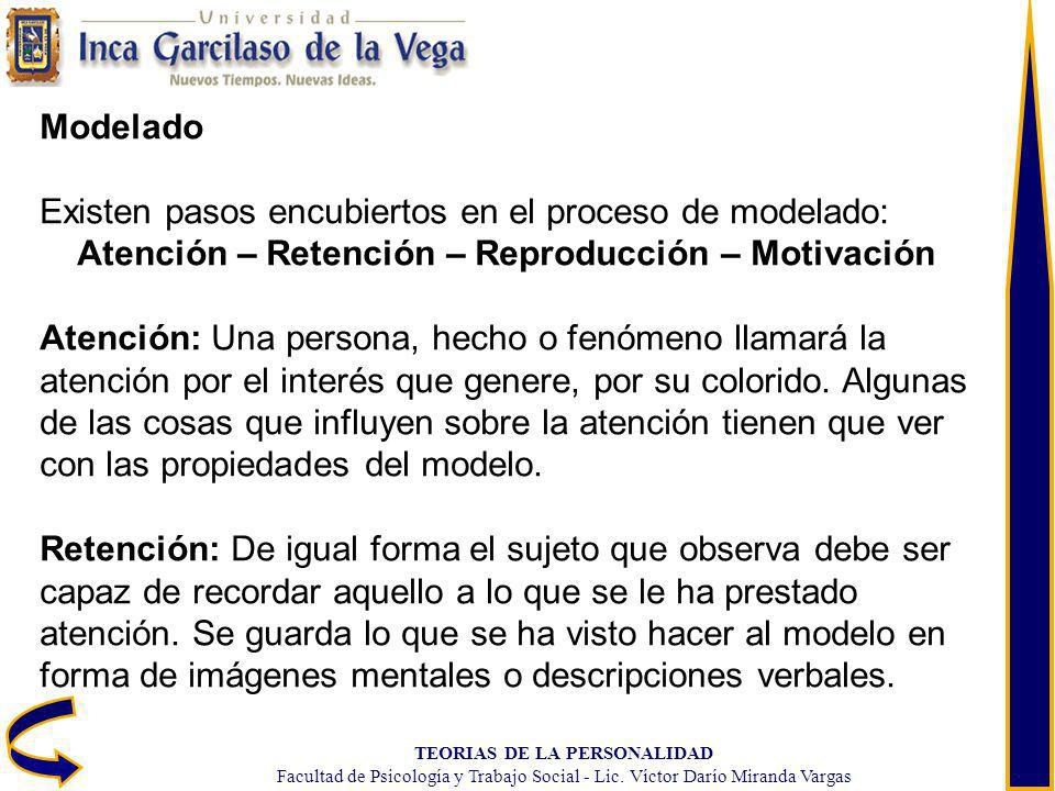 Atención – Retención – Reproducción – Motivación