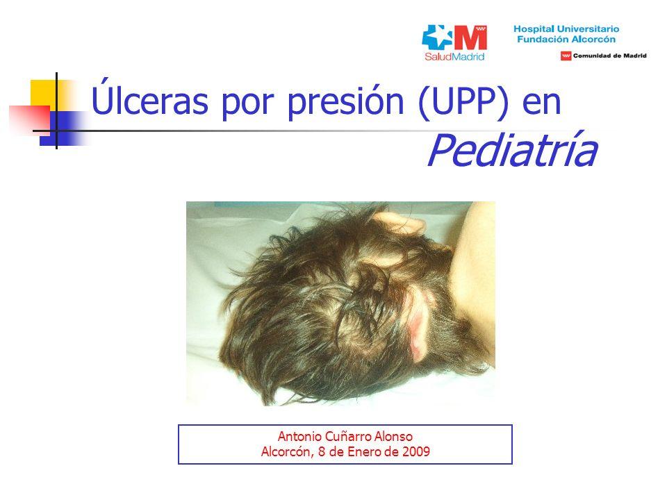 Úlceras por presión (UPP) en Pediatría