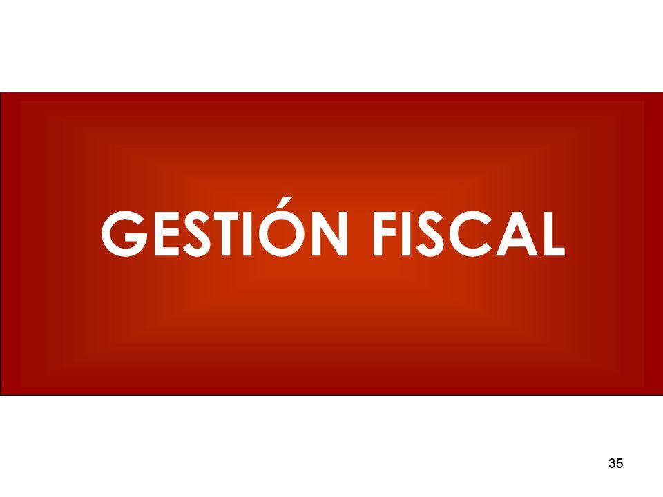 GESTIÓN FISCAL 35 35 35