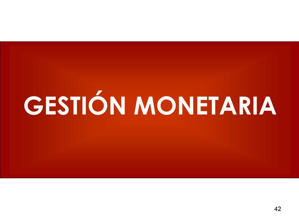 GESTIÓN MONETARIA 42 42 42