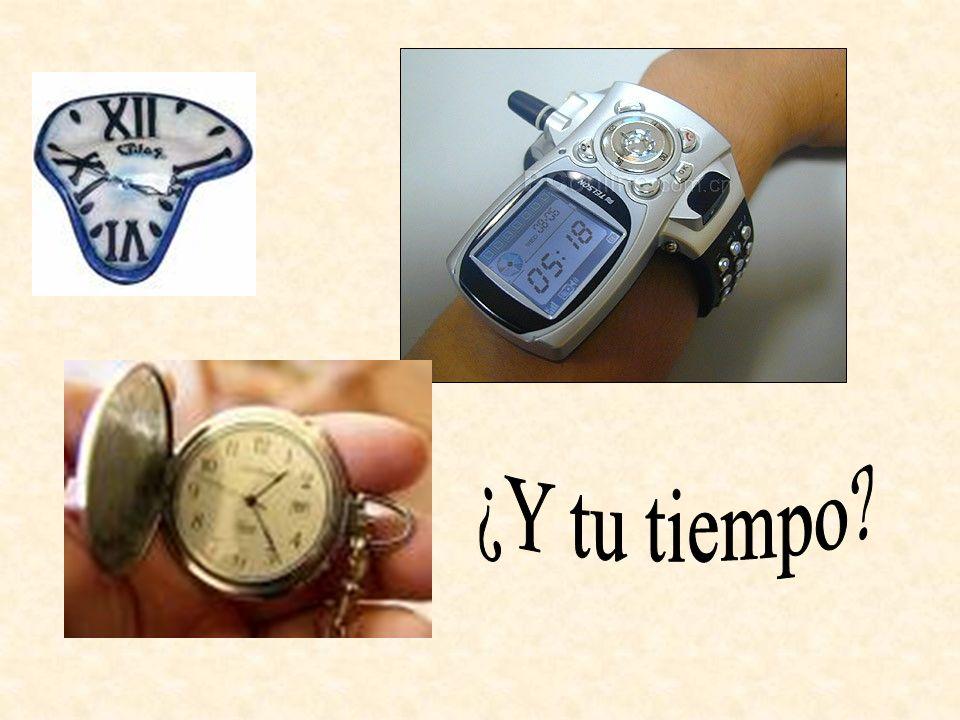 ¿Y tu tiempo
