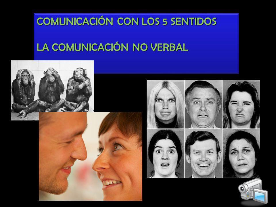 COMUNICACIÓN CON LOS 5 SENTIDOS