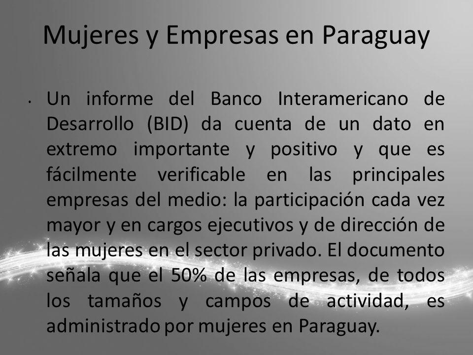 Mujeres y Empresas en Paraguay