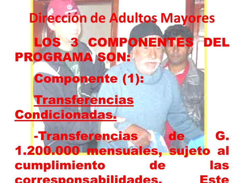 Dirección de Adultos Mayores