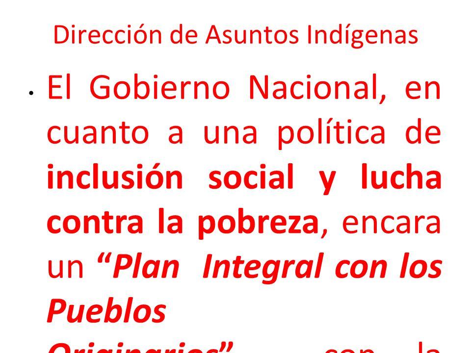 Dirección de Asuntos Indígenas