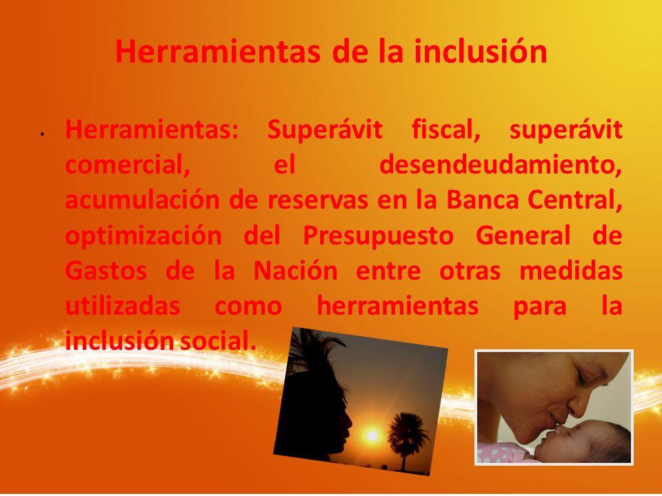 Herramientas de la inclusión