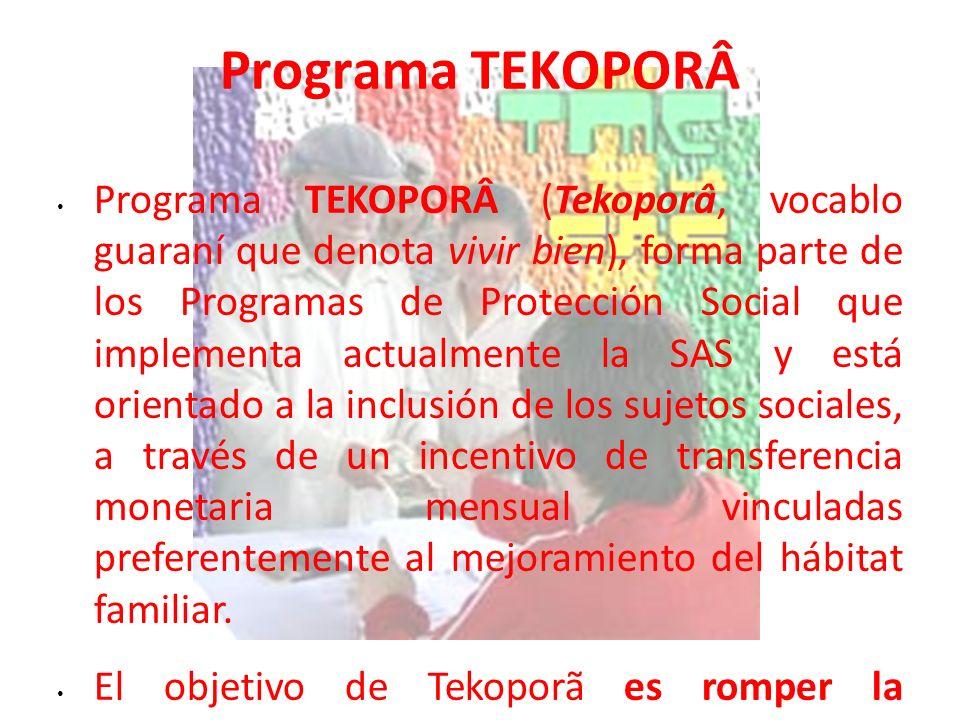 Programa TEKOPORÂ
