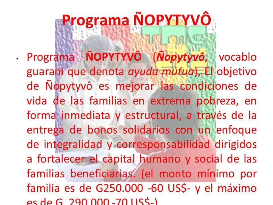 Programa ÑOPYTYVÔ