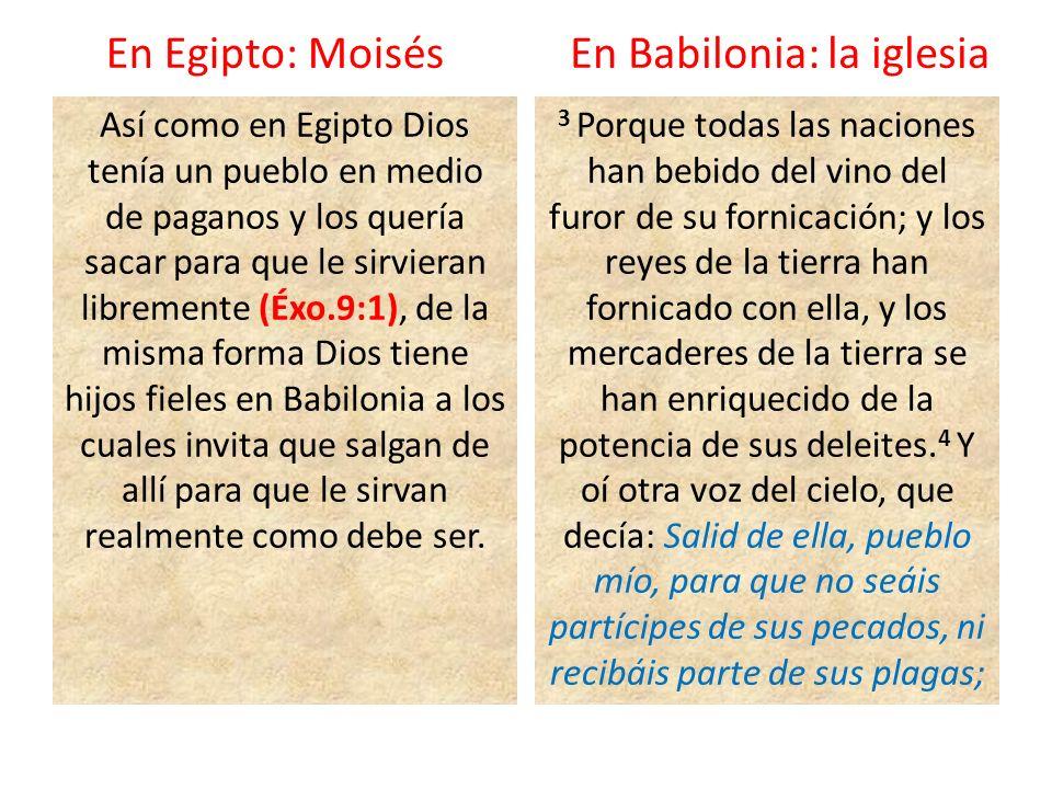 En Babilonia: la iglesia