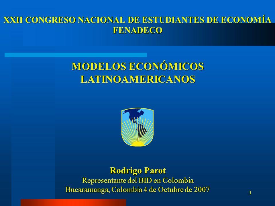 XXII CONGRESO NACIONAL DE ESTUDIANTES DE ECONOMÍA FENADECO