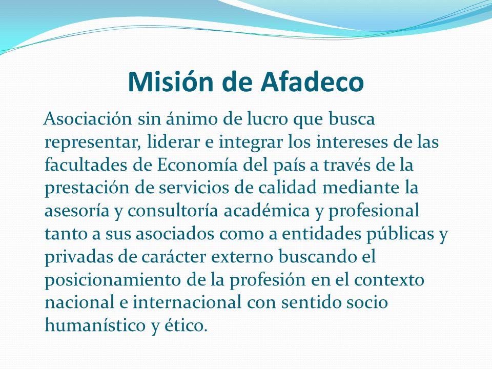 Misión de Afadeco