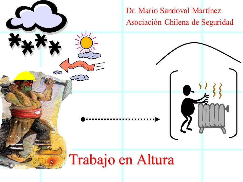 Trabajo en Altura Dr. Mario Sandoval Martínez
