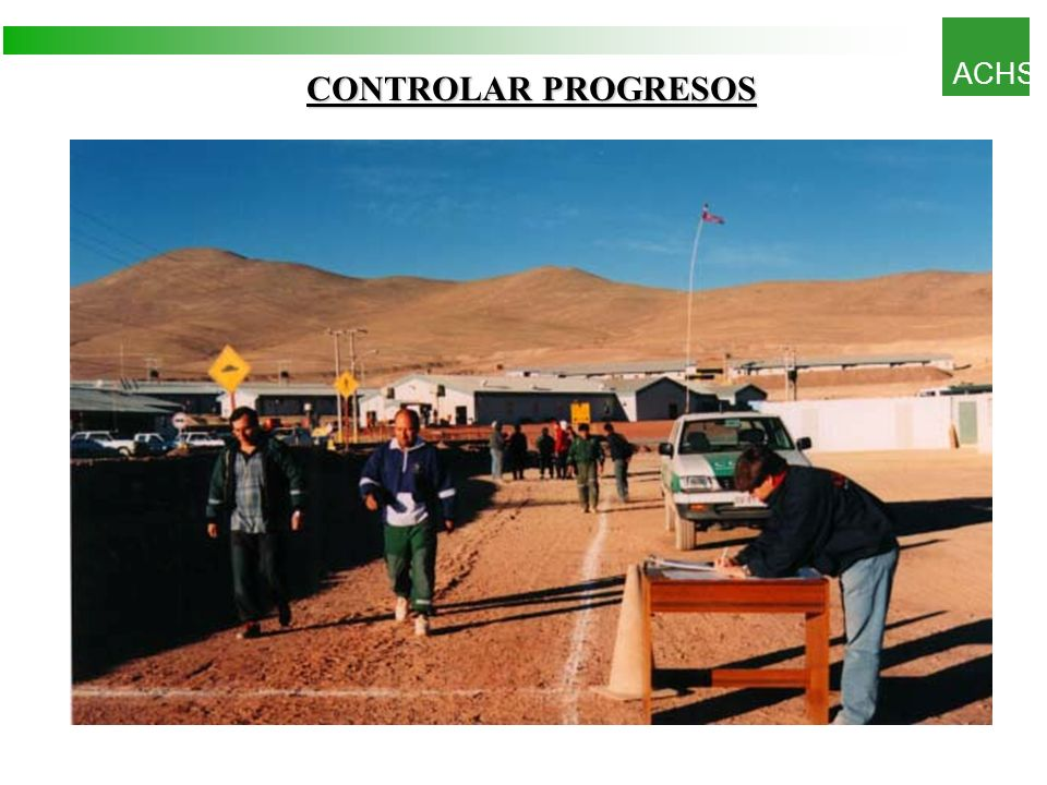 ACHS CONTROLAR PROGRESOS