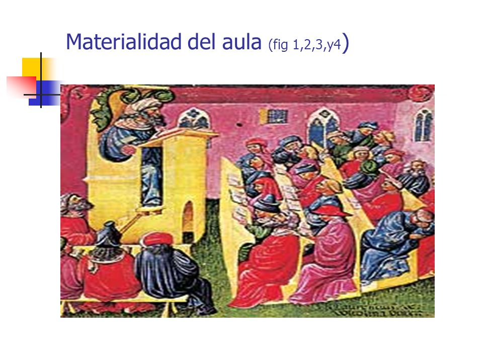 Materialidad del aula (fig 1,2,3,y4)