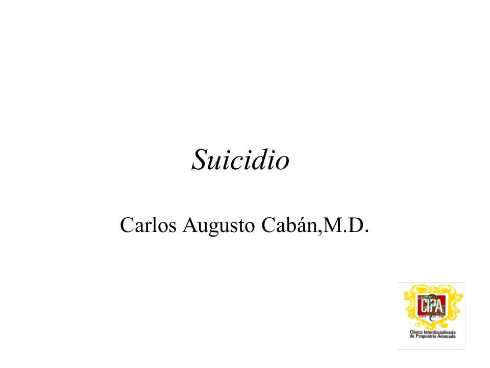 Carlos Augusto Cabán,M.D.