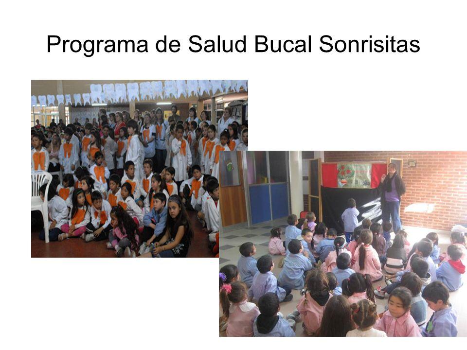 Programa de Salud Bucal Sonrisitas