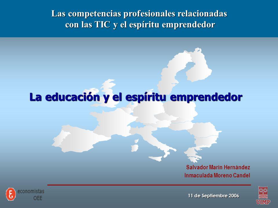La educación y el espíritu emprendedor