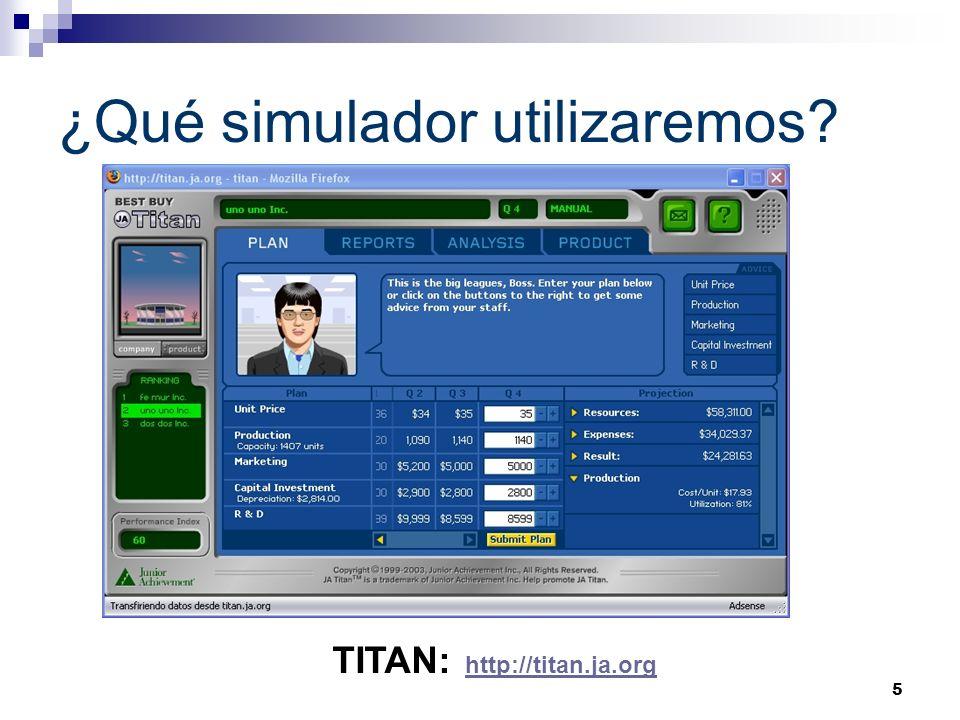 ¿Qué simulador utilizaremos
