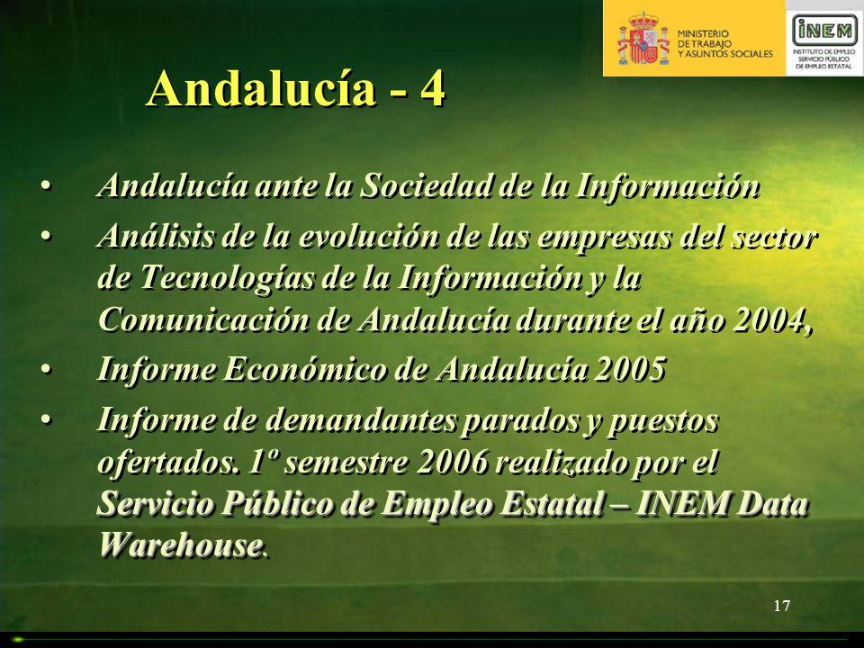Andalucía - 4 Andalucía ante la Sociedad de la Información
