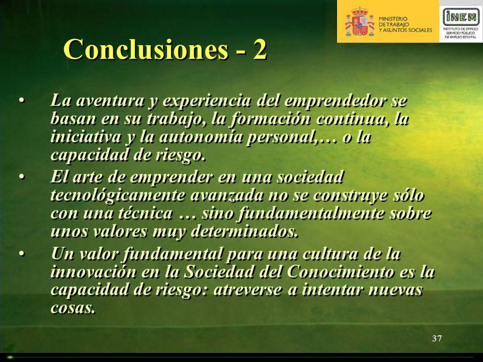 Conclusiones - 2