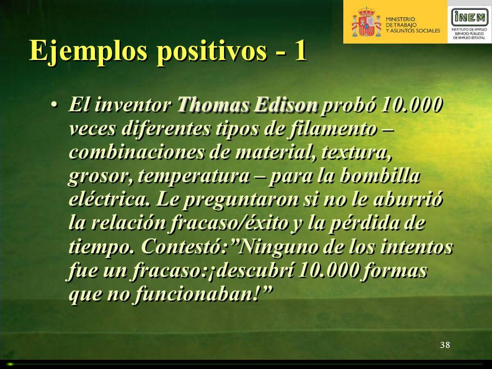 Ejemplos positivos - 1