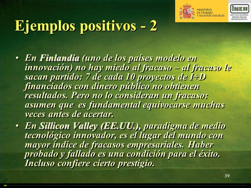 Ejemplos positivos - 2