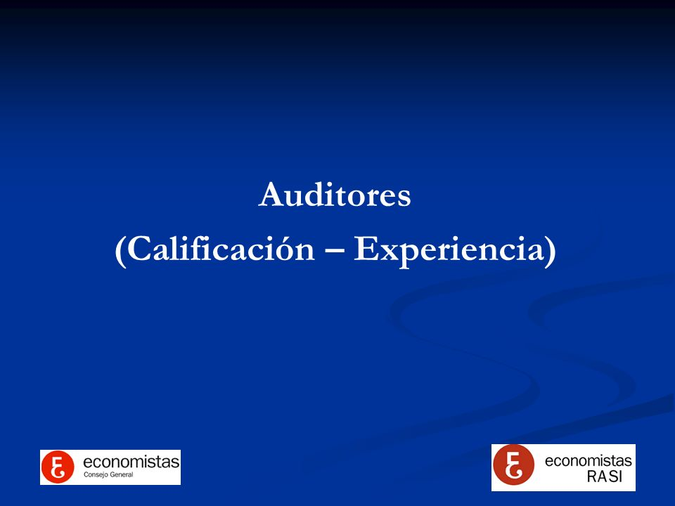 (Calificación – Experiencia)