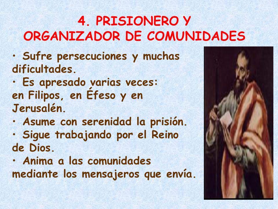 ORGANIZADOR DE COMUNIDADES