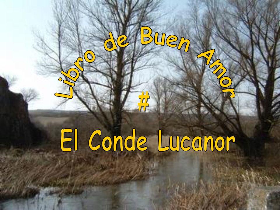 Libro de Buen Amor # El Conde Lucanor