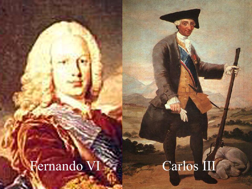 Fernando VI Carlos III