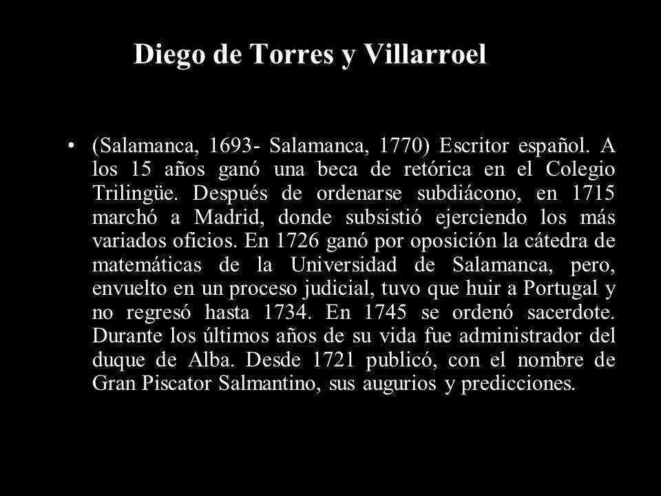 Diego de Torres y Villarroel