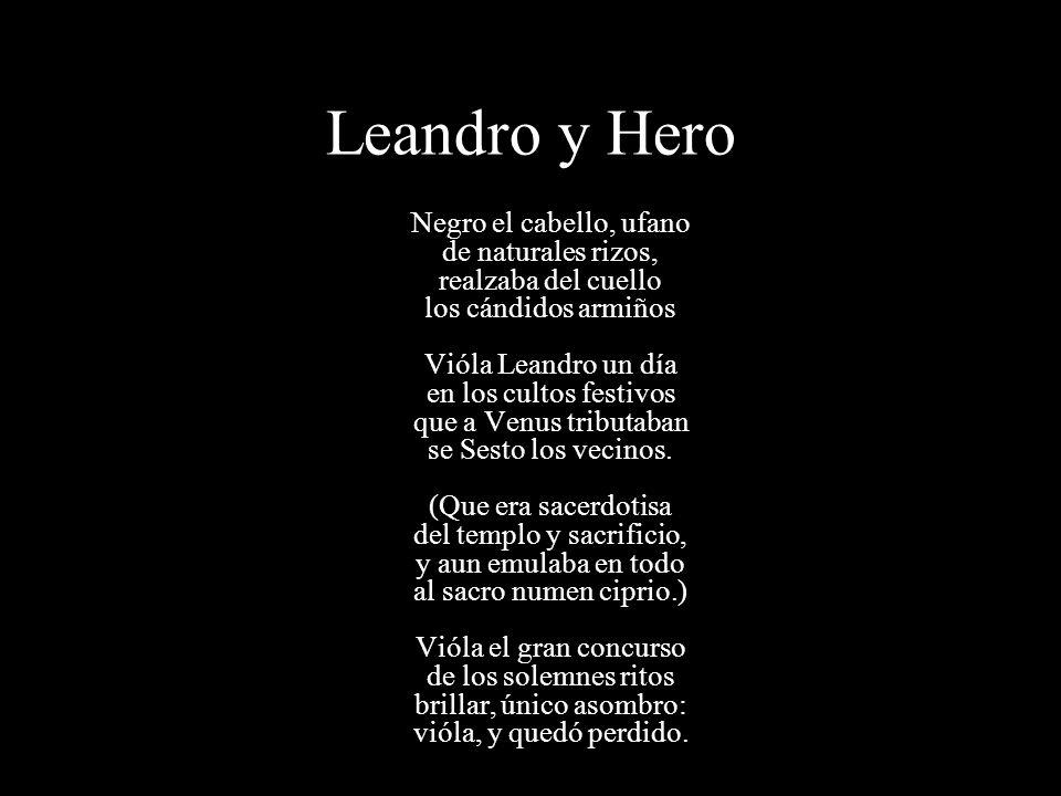 Leandro y Hero