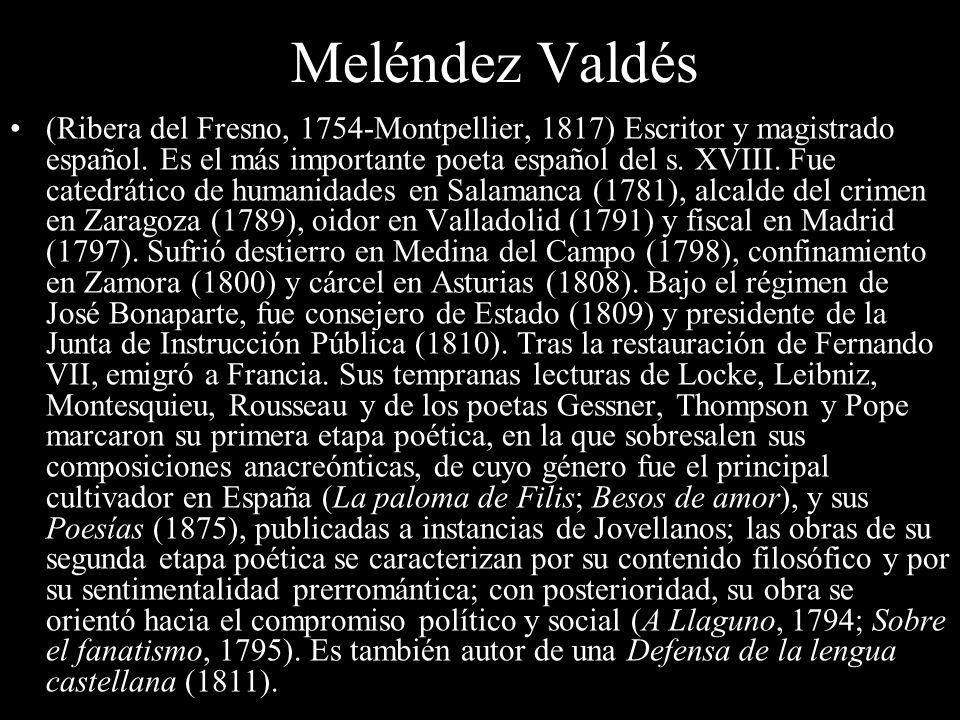 Meléndez Valdés
