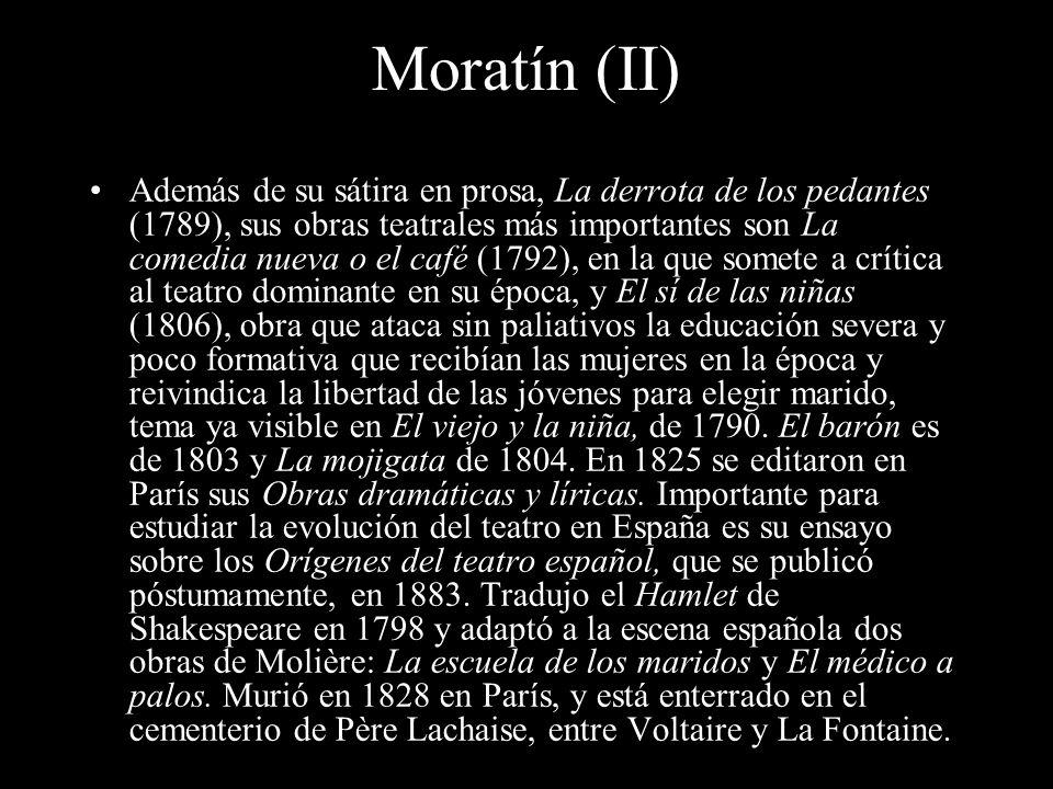 Moratín (II)