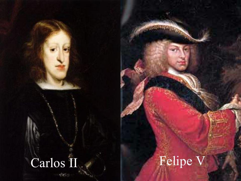 Felipe V Carlos II
