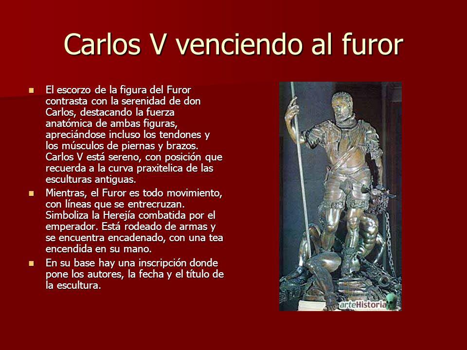 Carlos V venciendo al furor