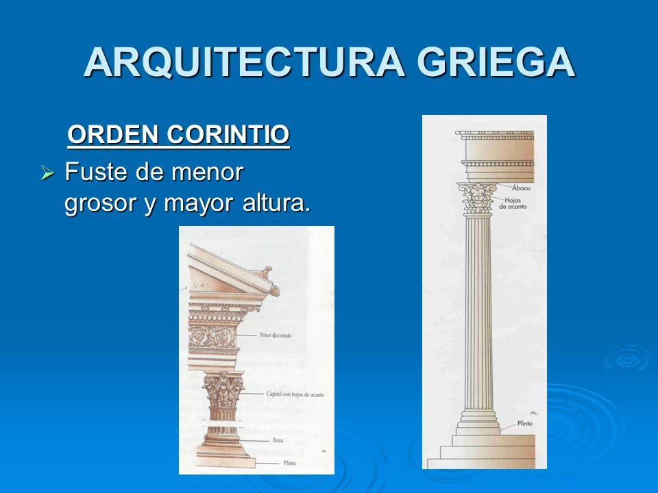 ARQUITECTURA GRIEGA ORDEN CORINTIO