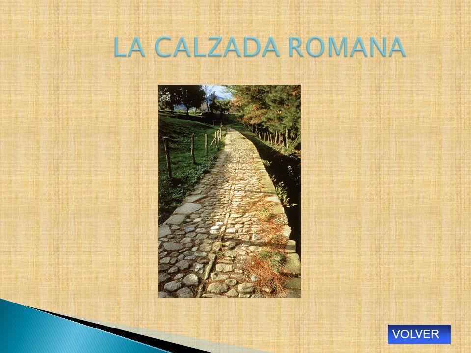 LA CALZADA ROMANA VOLVER